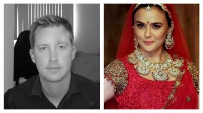 Preity Zinta and  Husband