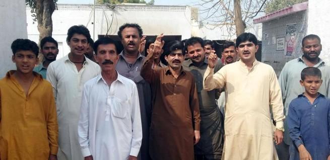 Sehwan Sharif Protest
