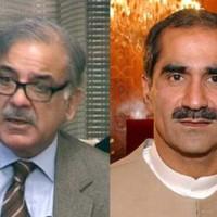 Shahbaz Sharif and Khawaja Saad Rafique