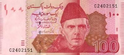 100 Pakistani Rupees