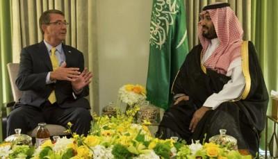 Ash Carter and Muhammad bin Salman