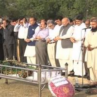 Chaudhry ,Abdul Ghafoor funeral
