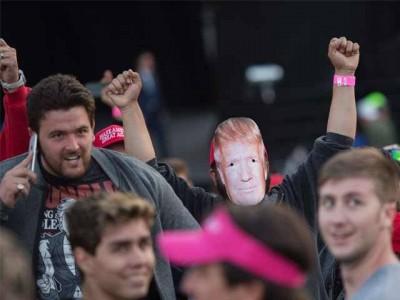 Donald Trump Rally Clash