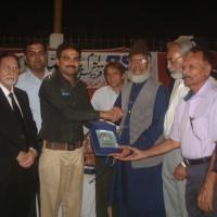 Dr Samiullah Receive Award