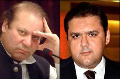 Hussain Nawaz and Nawaz Sharif
