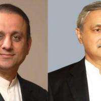 Jahangir Tareen and Aleem Khan