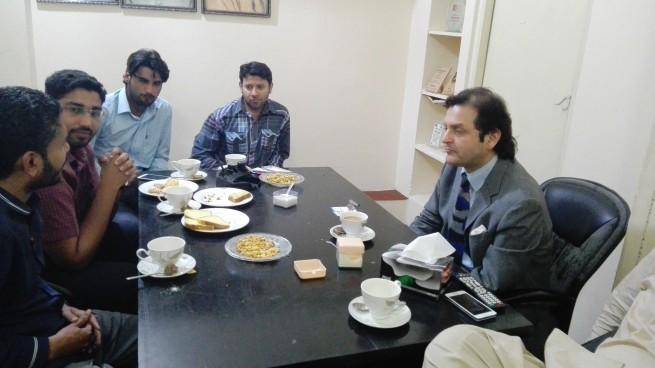 Lahore PTI Meeting