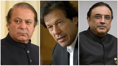 Nawaz, Imran and Zardari