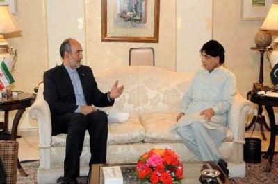 Nisar and Iranian Ambassador