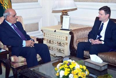 Rafiq Rajwana And  US Ambassador