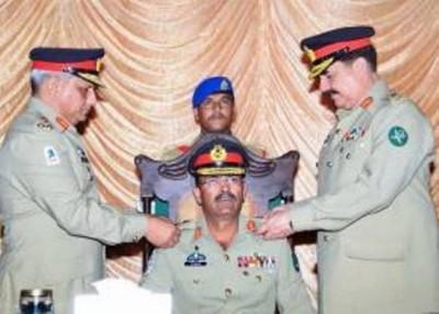 Raheel Sharif Colonel Commandant Badges