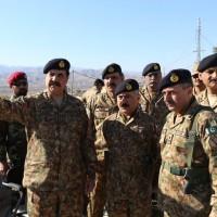 Raheel Sharif Visited North Waziristan