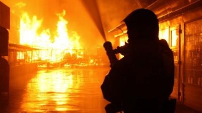 Saudi Arabia-Factory Fire