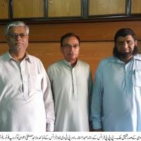 Shafiq Malik Abdul Sattar Mustafa Zahid Awan Group Photo