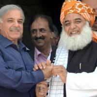 Shahbaz Sharif and Fazlur Rehman