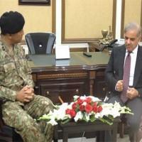 Shahbaz Sharif, commander,