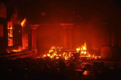 Temple Fire
