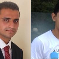 Umar Farooq Awan and Ali Almeria Awan