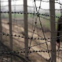Wagah Border Firing