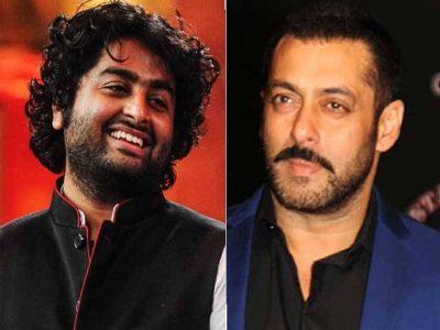 Arjit Singh and Salman Khan
