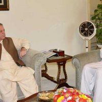 Chaudhry Nisar Ali and Nawaz Sharif