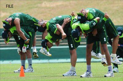 Cricket Team Exercise