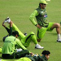 Cricket Team Practise