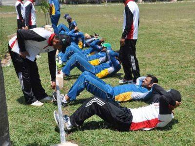 Cricket Team Training