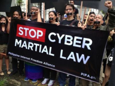 Cyber Crime Protest