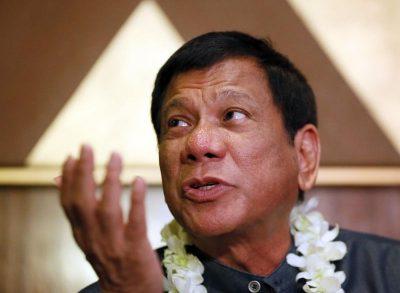 Davao Mayor Rodrigo Duterte