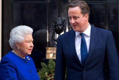 David Cameron and Queen Elizabeth