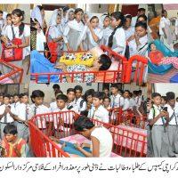 Dhaka Sec School Students visit Dar-ul-Sakoon