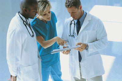 Doctors with Nurse
