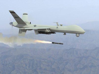 Drone strike