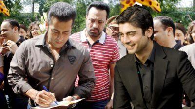 Fawad Khan and Salman Khan