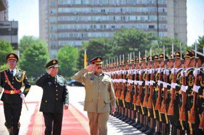 General Raheel Sharif,China Visited