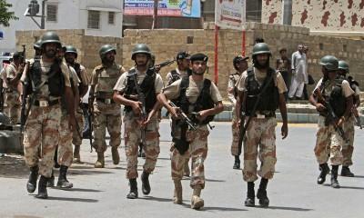 Karachi Operation Rangers