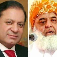 Maulana Fazlur Rehman, Nawaz Sharif