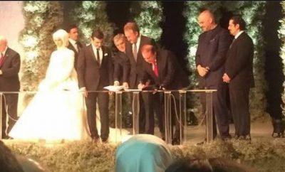 Nawaz  Sharif Signing as a Witness