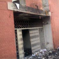 Office Burned
