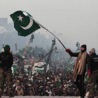 Pakistani flags