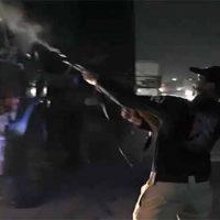 Police Firing