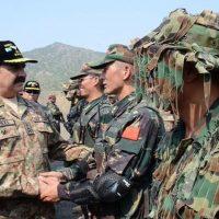Raheel Sharif Meet China Army