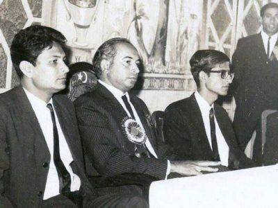 Rasheed Hassan and Bhutto