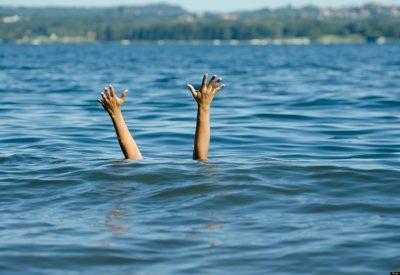 Sinking Woman
