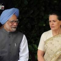 Sonia Gandhi, Manmohan Singh,