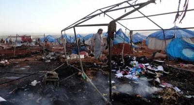 Syrian Refugee Camp Attack
