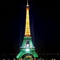 Tour Eiffel - Green
