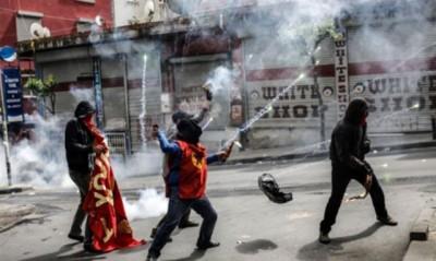 Turkey Demonstrators