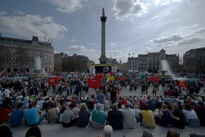 rallies LONDON